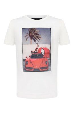 Хлопковая футболка Limitato HEEL ME/T-SHIRT REGULAR