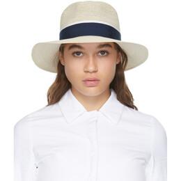 Maison Michel Beige Henrietta Straw Hat 1002049002