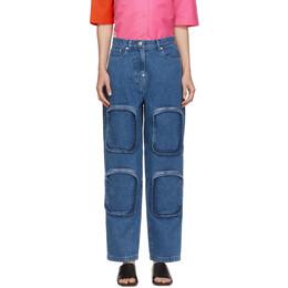 Pushbutton Blue 4 Pocket Jeans PB2030312W