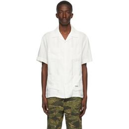 Neighborhood White Habana Short Sleeve Shirt 201SPNH-SHM03