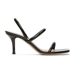 Gianvito Rossi Black Vernice 70 Heeled sandals G31795.70RIC.VER