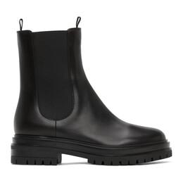 Gianvito Rossi Black Chester Boots G73462.20GOM.CLN
