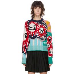 Charles Jeffrey Loverboy Multicolor Guddle Tassle Sweater CJLAW20GJ