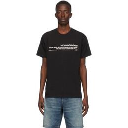 Neighborhood Black Archive No. 0201 Logic T-Shirt 201PCNH-ST02S