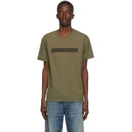 Neighborhood Green Archive No. 0201 CI T-Shirt 201PCNH-ST01S