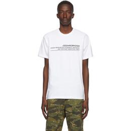 Neighborhood White Archive No. 0201 Logic T-Shirt 201PCNH-ST02S