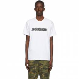 Neighborhood White Archive No. 0201 CI T-Shirt 201PCNH-ST01S