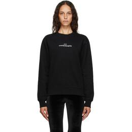 Maison Margiela Black Upside Down Logo Sweatshirt S50GU0148 S25451