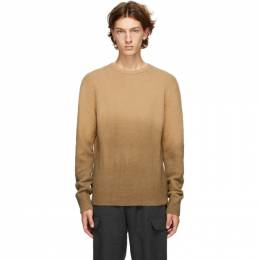Officine Generale Taupe Neils Sweater W20MKNT304PRE