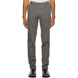 Ami Alexandre Mattiussi Grey Chino Trousers A20HT619.248