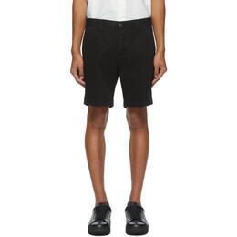 Ami Alexandre Mattiussi Black Bermuda Shorts A20HT710.248
