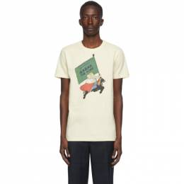 Lanvin Beige Babar Edition The King T-Shirt RM-JE0034-JR15-A20