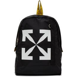 Off-White Black Arrows Easy Backpack OMNB019E20FAB0011001