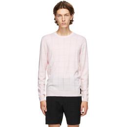 Fendi Pink Wool Sweater FZY084 ACFK