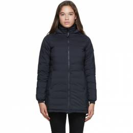 Canada Goose Black Down Camp Jacket 5085L