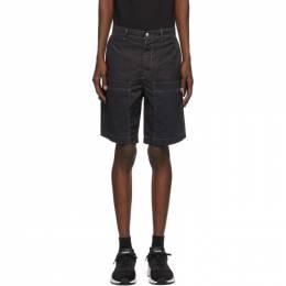 Diesel Black Twill P-Trent Shorts A000920BAZJ