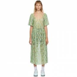Collina Strada Green Princess Mariposa Dress XX4382