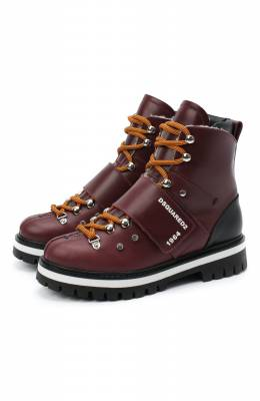 Кожаные ботинки Dsquared2 65200/RUNNER/36-41