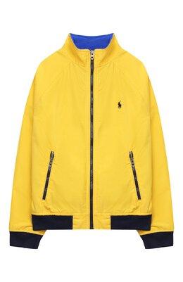 Хлопковая куртка Polo Ralph Lauren 323785763