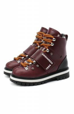Кожаные ботинки Dsquared2 65200/RUNNER/28-35