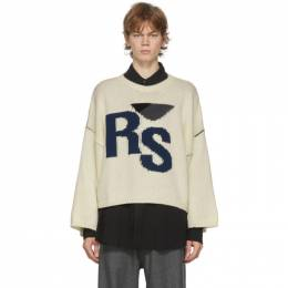Raf Simons Off-White Oversized RS Sweater 202-843