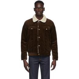 Nudie Jeans Brown Corduroy Bonny Jacket 160696