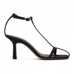 Neous Black Jumel 80mm Heeled Sandals 00102G01