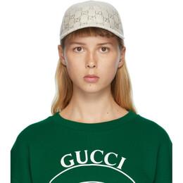 Gucci Beige GG Cap 631953 3HK75