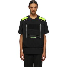 Sankuanz Black Vest T-Shirt SKZM20AW0TS0601-BK