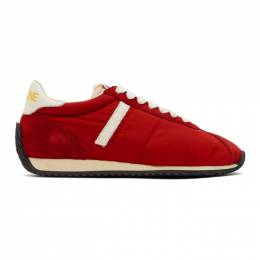 Re/Done Red 70s Runner Sneakers 268-14W7RSH