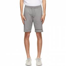 Hugo Grey Stripe Logo Shorts 50432048