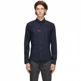 Hugo Navy ERO3 Slim Fit Shirt 50431916