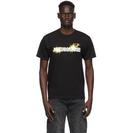 Neighborhood Black Reign T-Shirt 201PCNH-ST09