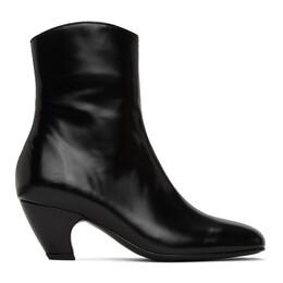Dorateymur Black Polido Boots FDORW105B09021