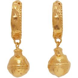 Alighieri Gold The Fragments On The Shore Earrings FJ5356