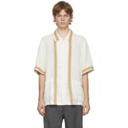 Our Legacy White Elder Short Sleeve Shirt M3202EW