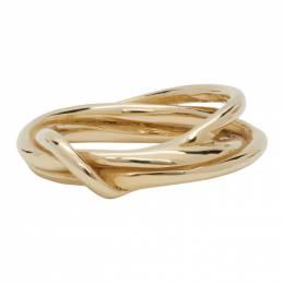 Faris Gold Tangle Ring 14027RG-BR