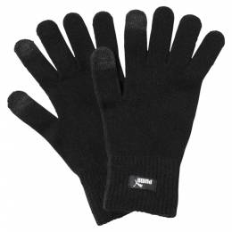 Puma - Перчатки PUMA knit gloves – Puma Black-N.1 LOGO – M/L 4059506121128
