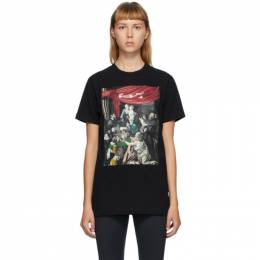 Off-White Black Caravaggio Painting T-Shirt OMAA027E20JER0081010