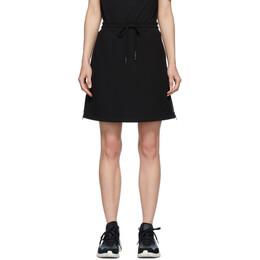 MCQ by Alexander McQueen Black McQ Swallow Logo Tape Short Skirt 563323RPR04