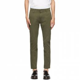 Levi's Green Tapered Standard Trousers 17199-0001