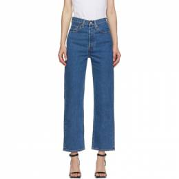 Levi's Blue Ribcage Straight Ankle Jeans 72693-0011