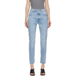 Levi's Blue 501 Skinny Jeans 29502-0117