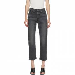 Levi's Black Wedgie Straight Jeans 34964-0072