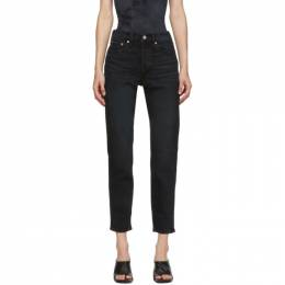 Levi's Black Wedgie Fit Ankle Jeans 22861-0064