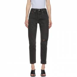Levi's Black 501 Skinny Jeans 29502-0152