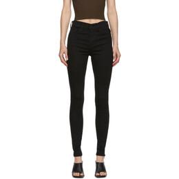 Levi's Black 720 High Rise Super Skinny Jeans 52797-0000