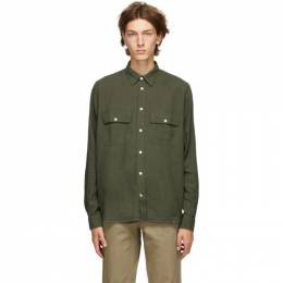 Norse Projects Green Villads 50/50 Shirt N40-0526
