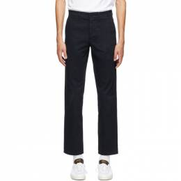 Norse Projects Navy Slim Aros Trousers N25-0240