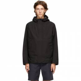 Norse Projects Black Gore-Tex® Fyn Shell 2.0 Jacket N55-0497
